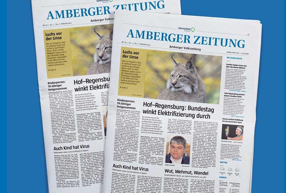Amberger Zeitung Traueranzeige