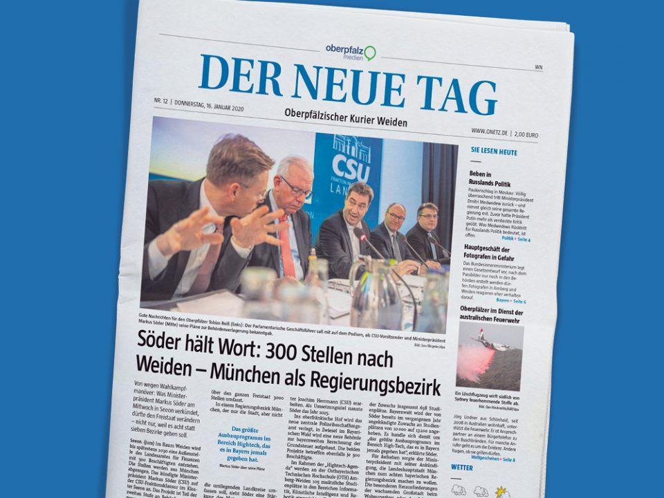 Zeitung Oberpfalz