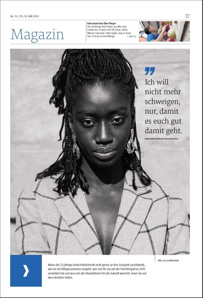 Titelseite Magazin Reportage Rassismus