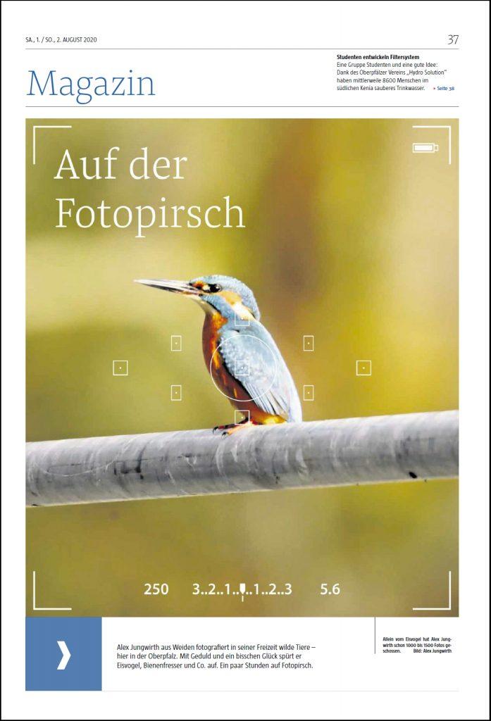 Titelseite Magazin Fotopirsch