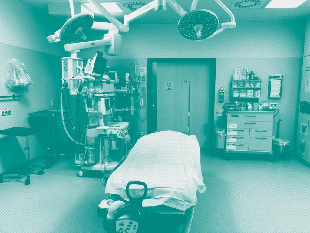 Schockraum im Klinikum Amberg